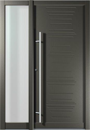 Vchodové dveře hliníkové